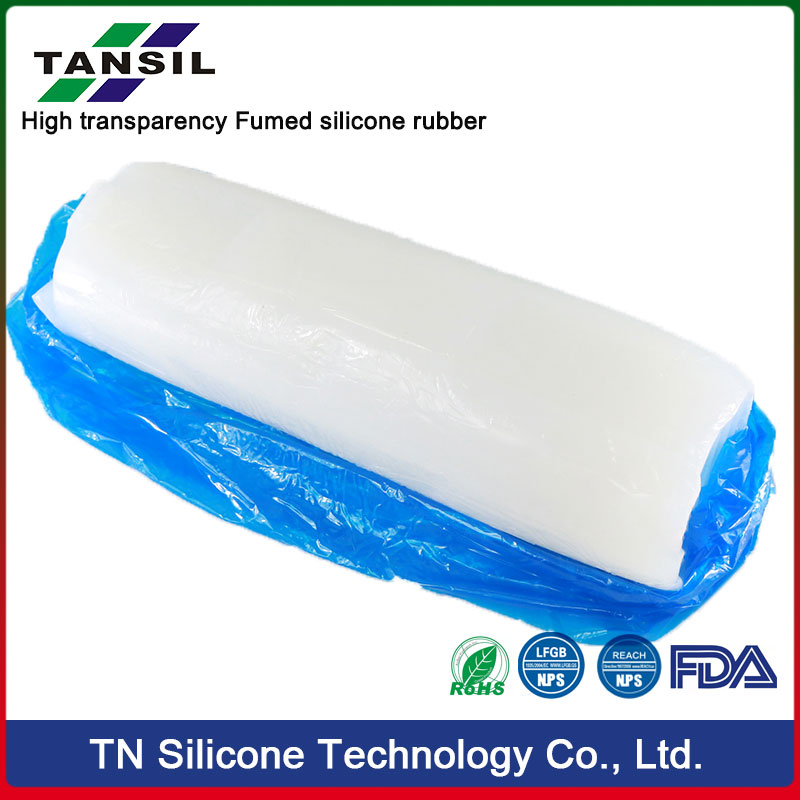 High transparency Fumed silicone rubber